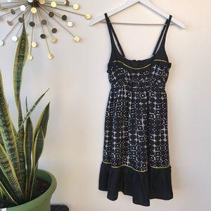 Susana Monaco silk bottom geometric print dress 4
